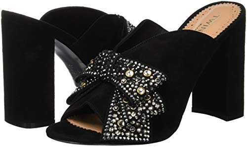 Abierta Con Negro Para Zapatos Ca8pp3 De Milano Mujer Punta Tacón Twinset wTqP0x