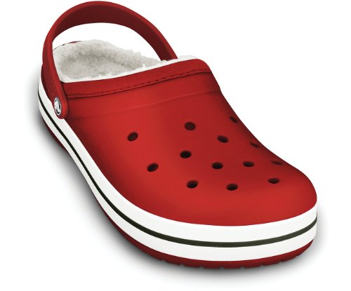 Crocs Crocband Mammoth Unisex Unisex Footwear, UK: 6 UK, Red/Oatmeal
