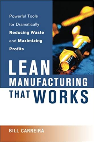 amazon com lean manufacturing that works powerful tools for