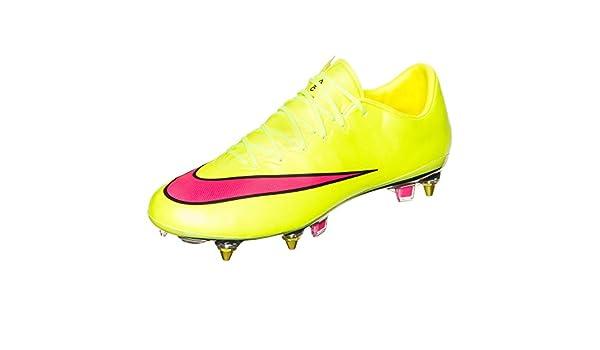 Nike Botas de fútbol para Mercurial Vapor X SG de Pro Amarillo ...