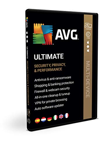 AVG Ultimate | meerdere apparaten | 10 apparaten | 1 Jaar | Box