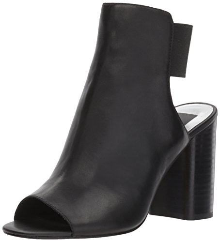 Dolce Vita Women's Rayne Heeled Sandal, Black Leather, 7.5 Medium US