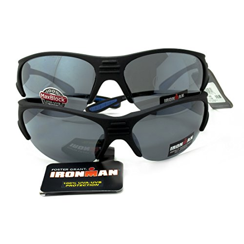 Lot Of 2 Foster Grant Ironman Sunglasses Polarized 100% UVA/UVB Empower 4721 NEW