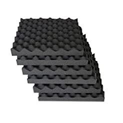 6 Pack egg crate foam acoustic foam tile...