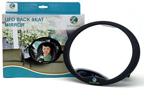 Amazon Logiclux Rear View Facing Back Seat Baby Mirror