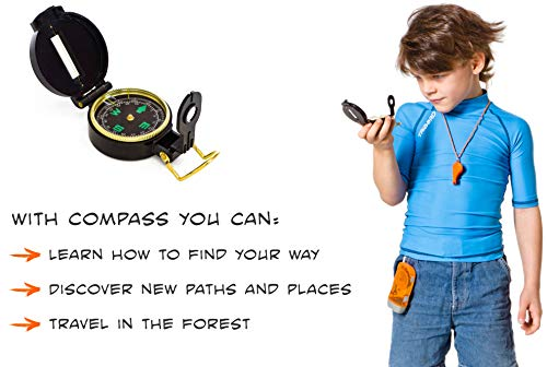 Small Discoverer Outdoor Exploration Set – Kids Adventure Pack – Perfect 3-12 Year Old boy Toys and Girl Toys – Good…