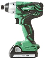 Hitachi WH18DGL 18-Volt 1/4-Inch Cordless Lithium Ion Impact Driver Kit (Lifetime Tool Waranty) from Hitachi