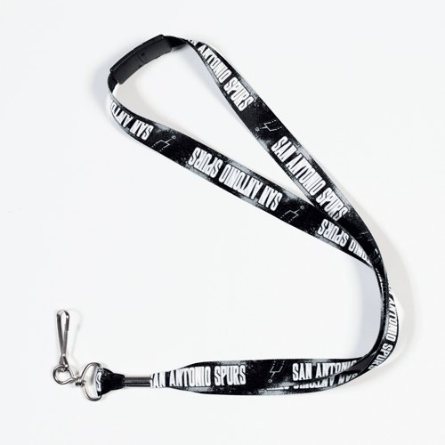 - WinCraft NBA San Antonio Spurs Lanyard with Breakaway, 3/4