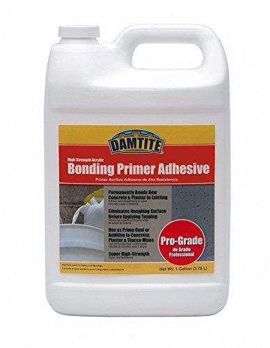 Damtite 05610 Acrylic High Strength Professional Grade Bonding Primer Adhesive, 1 gal, Liquid