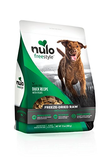 Nulo Freeze Dried Raw Dog Food For All Ages & Breeds: Natural Grain Free Formula With Ganedenbc30 Probiotics For Digestive & Immune Health – Duck Recipe With Pears – 13 Oz Bag Review