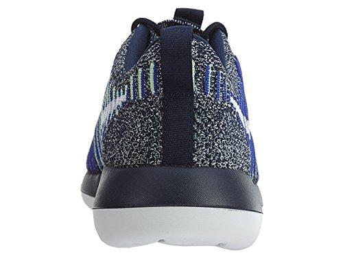 Nike Kvinnor Roshe Två Flyknit Marinblå / Vit