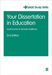 your dissertation in education walliman and buckler