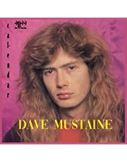 Dave mustaine calendar 2022: monthly calendar with notes section with large grid block for planning, organizing