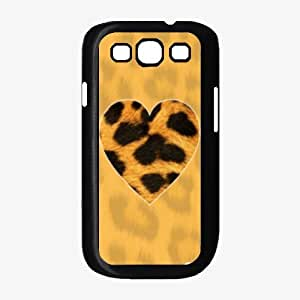 Leopard Animal Print Heart Phone Case Back Cover (Galaxy S3 - Plastic)