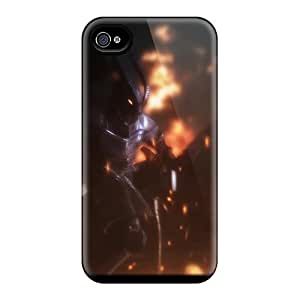 Hot Covers Cases For Iphone/ 4/4s Cases Covers Skin - Skyrim Firelord Approaches