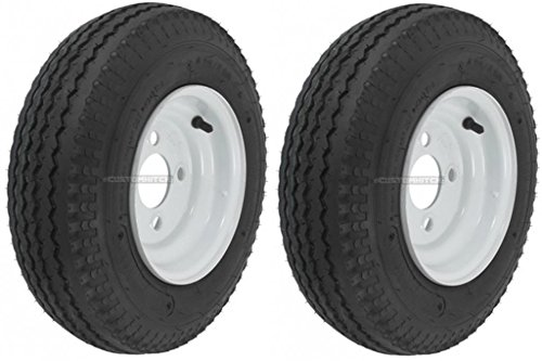 2-Pack-Mounted-Trailer-Wheel-Tire-409-480-8-480-8-480x8-LRB-4-Hole-White