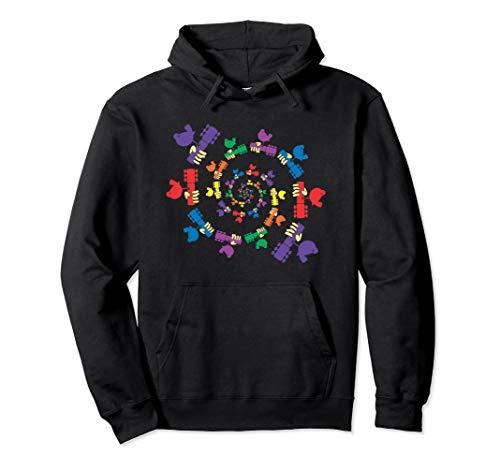 Spiral Dove - Not Fade Away Woodstock Hoodie Sweatshirt