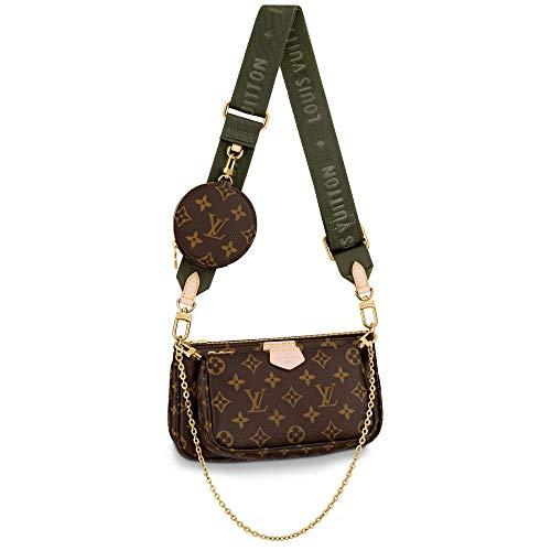 Louis Vuitton Multi Pochette Accessoires Crossbody Bags Handbags Purse Kaki M44813