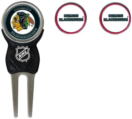 NHL Chicago Blackhawks 3 Marker Sign Divot Pack