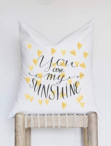 NA Kussenhoes Nursery Decor Baby Nursery Pillow Cover Je bent mijn zonneschijn