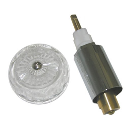LASCO 0-3151 Mixet Stem Kit Includes S-815-3 Cartridge and Hc-41 Clear Round Handle ()