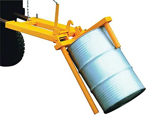 Fork Barrel Positioner - BVEDP Series; Accommodates: 55 Gallon Drums; Drum Type: Steel; Capacity (LBS.): 800; Fork Pockets (W x H): 5-1/2