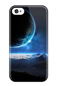 Premium Tpu Planets Cover Skin For Iphone 4/4s