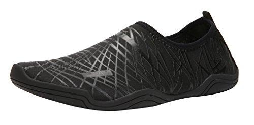 SAMI STUDIO Männer und Frauen Wasser Schuhe Leichte Durable Rolle Aqua Schuhe Geeignet Für Fahren Schwimmen Bootfahren Yoga Beach Surf Schwarz1
