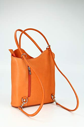 main Belli Multicolore Multicolore Orange Multicolore T femme B x cm à H x 28x28x8 dos porté au Sac pour rCCqwxE