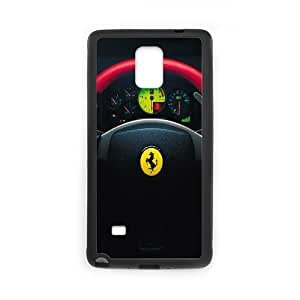 Ferrari 0 Challenge Stradale Steering Wheel Car0 0 Samsung Galaxy Note 4 Cell Phone Case Black TPU Phone Case SV_200615