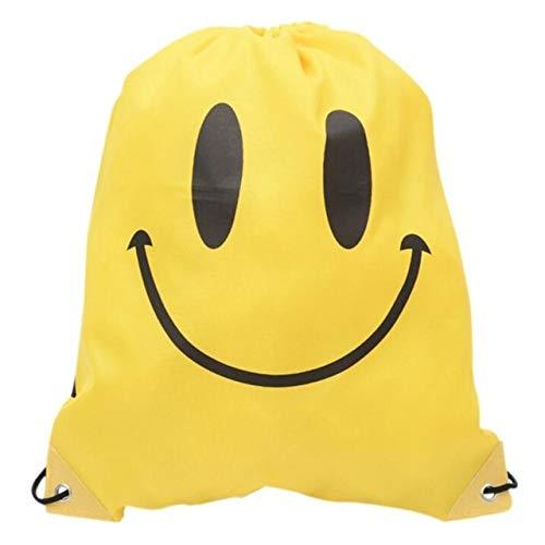 Storage Bag - Drawstring Backpack Softback Shoulder Draw String Outdoor Beach Gym Swimming Clothing Towel Storage Bag - Shoe Suitcase Knapsack Traveling Udder Pocketbook - 1PCs ()