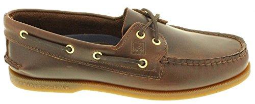 Sperry Topsider - Zapatillas De Barco Auténticas Originales Amaretto - 14 M