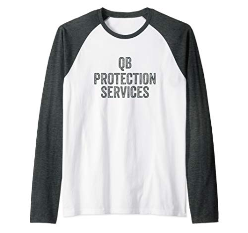 Offensive Lineman TShirts For Men Vintage Funny Football Raglan Baseball Tee