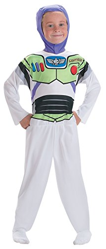 UHC Boy's Toy Story Buzz Lightyear Outfit Funny Theme Child Halloween Costume, Child S (4-6)