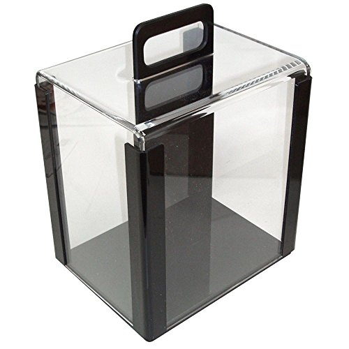 Chip Capacity Clear Acrylic - 1000 Poker Chip Capacity Clear Acrylic Carrier for Poker Chips