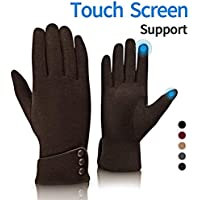 Fashion Touch Screen Winter Gloves Warm Polar Fleece Causal Gloves Windproof in Cold Weater Lightweight For Women