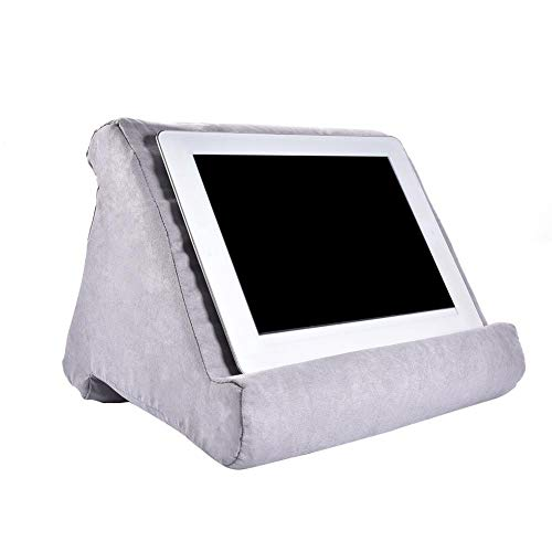 zubreath iPad Tablet Stand Pillow Holder,Multi-Angle Soft Pillow Pad Stand for iPad Tablet Phone,Can Be Used on Bed, Floor, Desk, Lap, Sofa, Couch