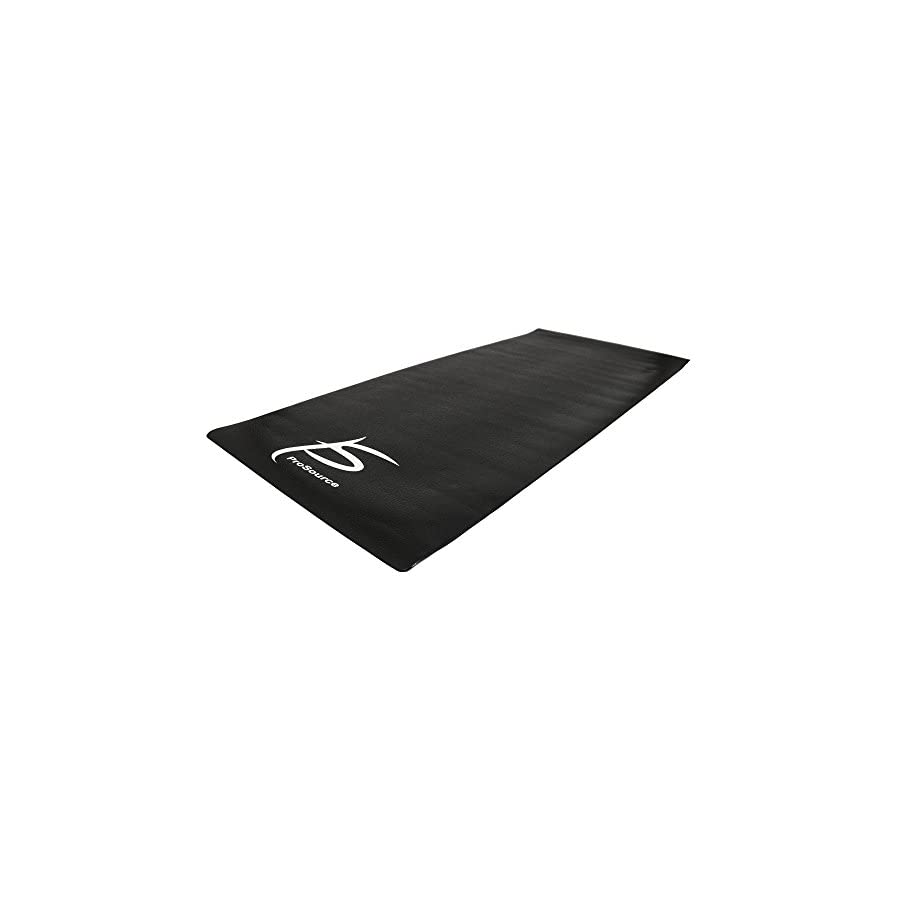 ProSource Fit Exercise Equipment & Treadmill Mat High Density PVC Floor Protector, 3 x 6.5 feet