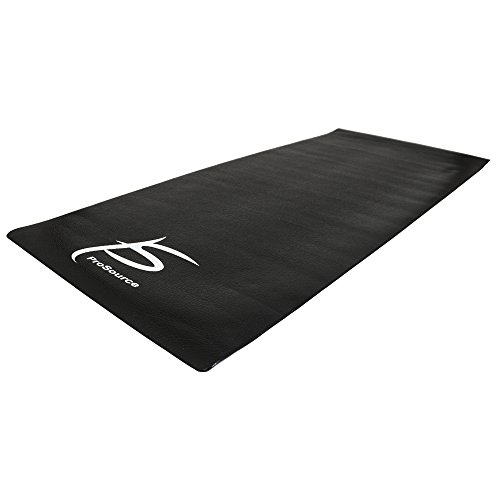ProSource Exercise Equipment & Treadmill Mat High Density PVC Floor Protector, 3 x 6.5-feet (Mat Rubber Bike)