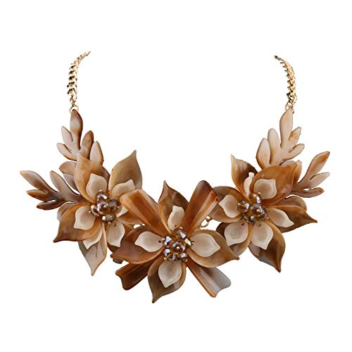 Niumike Flower Necklaces Elegant Necklace