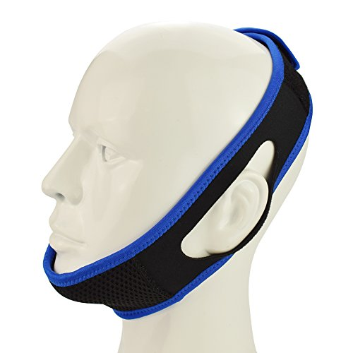 Beyoung Anti Snoring Chin Strap, Snor Stopper, Adjustable Sleep Snore Jaw Strap, Stop Snoring Sleep Aid, Snoring Solution, Soft Comfortable Snor Device, Snore Guard, 1Pcs - New Generation