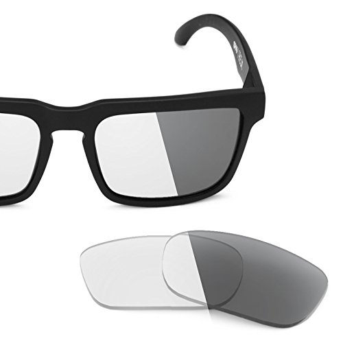 Revant Replacement Lenses for Spy Optic Helm Elite Adapt Grey Photochromic (Spare Clear Lenses)
