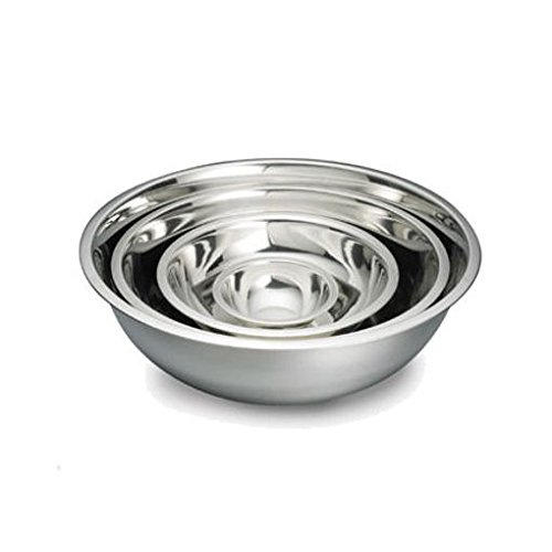UltraSource Stainless Steel Mixing Bowl Set