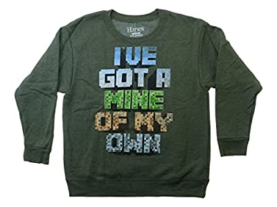 """I've Got a Mine of My Own"" Hanes Comfortblend Youth Crewneck Sweatshirt"