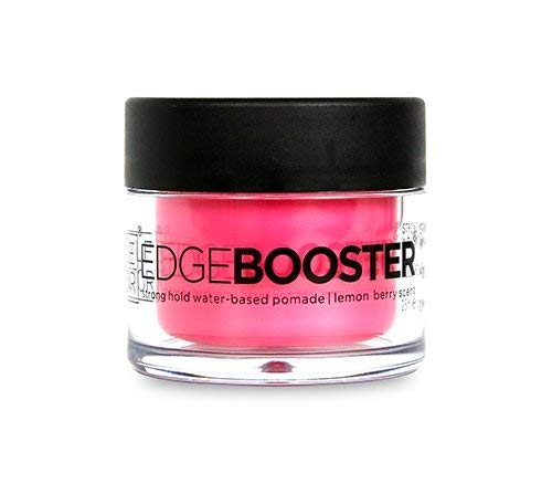 Style Factor Mini Edge Booster Strong Hold Hair Pomade Color Travel 0.85oz (Lemon Berry)