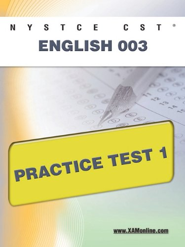 NYSTCE CST English 003 Practice Test 1