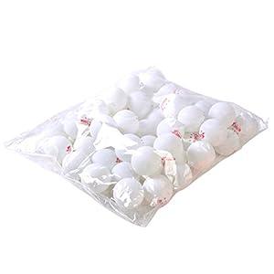 Tariq 50Sterne 40mm Olympischen Ping Pong Tisch Tennis Ball, weiß