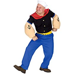 Fun World Costumes Men's Mens Popeye Costume
