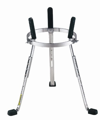 Stand Djembe Percussion (Meinl Percussion Stand with Full Height Adjustability-NOT Made in China-Arched Rubber Bracing for More Stability, Adapts to Multiple Djembe Sizes, 2-Year Warranty (ST)