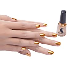 Mitsutomi Mirror Nail Polish Plating Silver Paste Metal Color Stainless Steel (Gold)